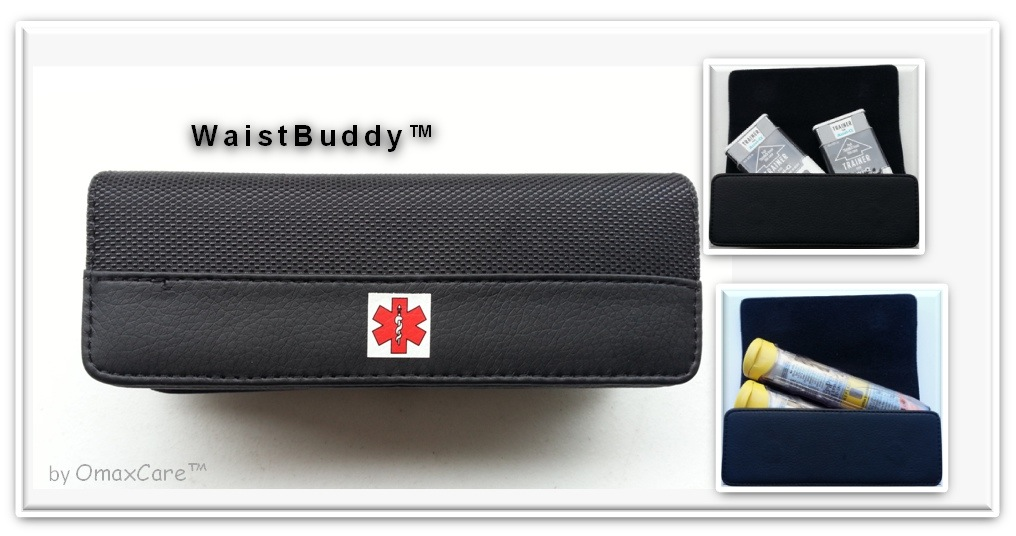 WaistBuddy™ | Blog-ask-about-food-allergy-epi-pen-carry